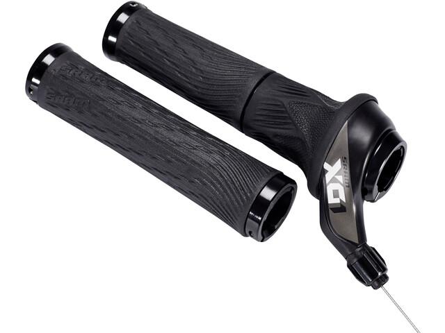 SRAM X01 Eagle Drehgriffschalter 12-fach hinten Lock-On Griffe schwarz